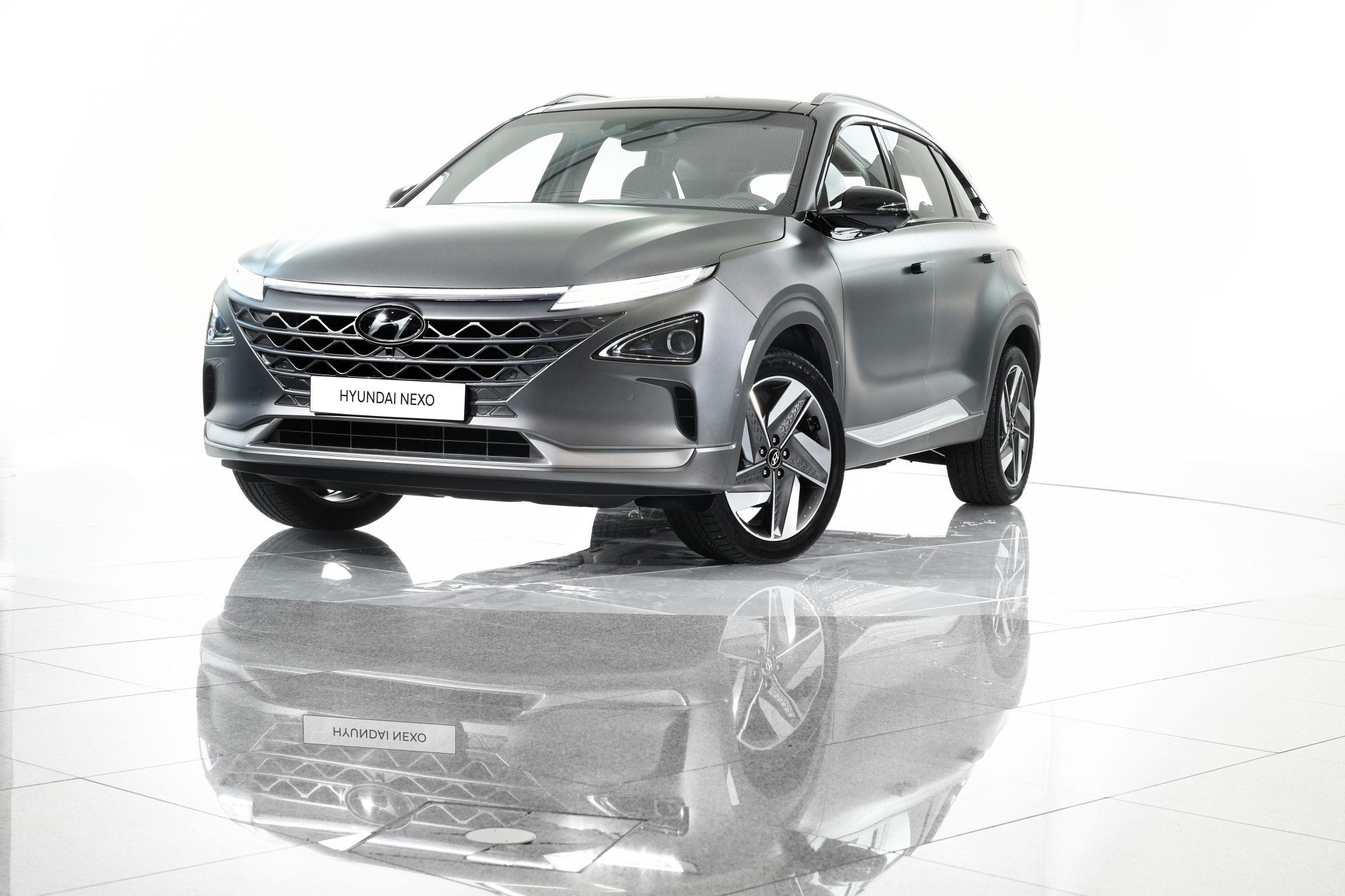 Afbeelding voor Hyundai maakt de prijzen van de nieuwe waterstofauto NEXO bekend