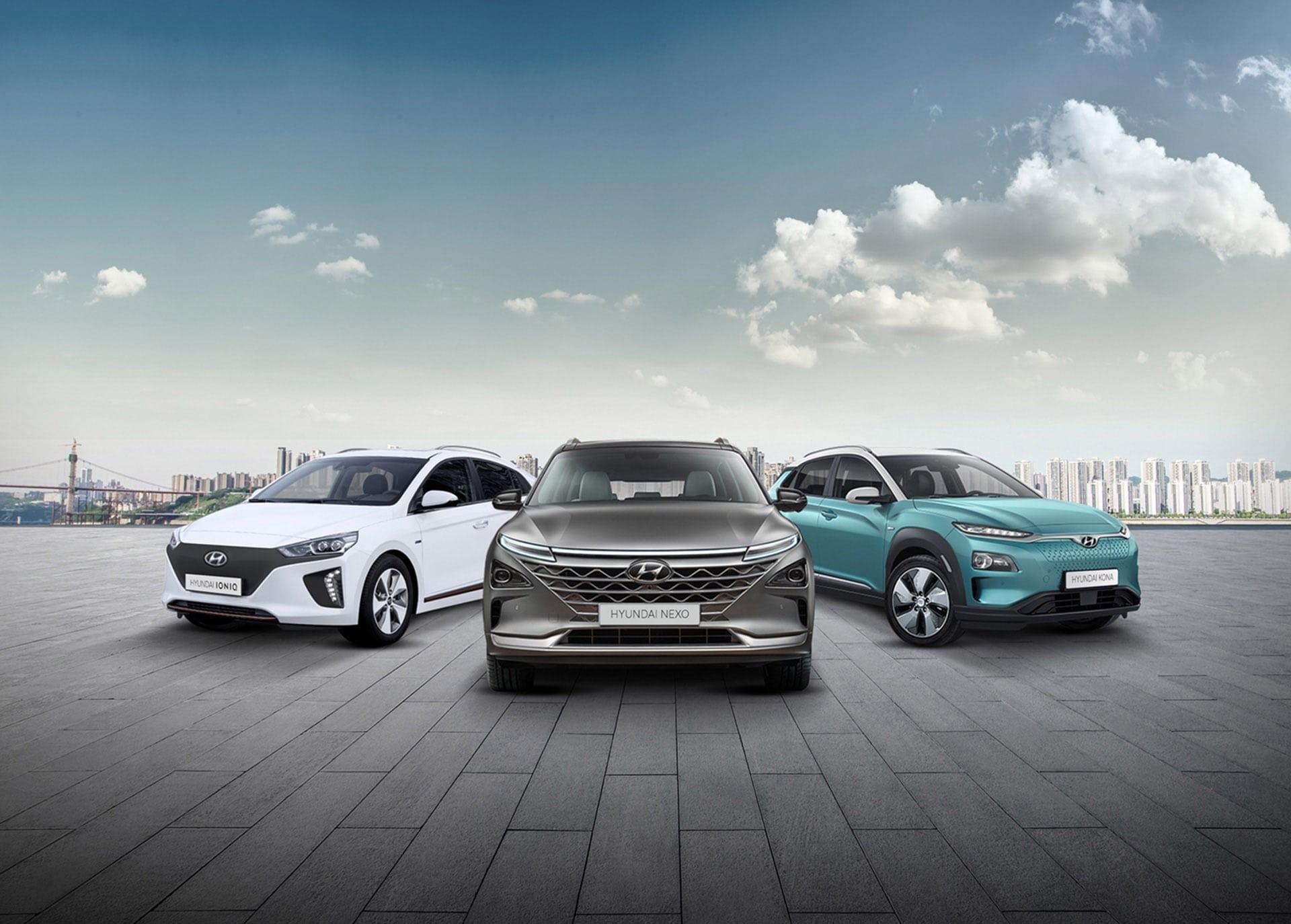 Afbeelding voor Elektrisch rijden met Hyundai