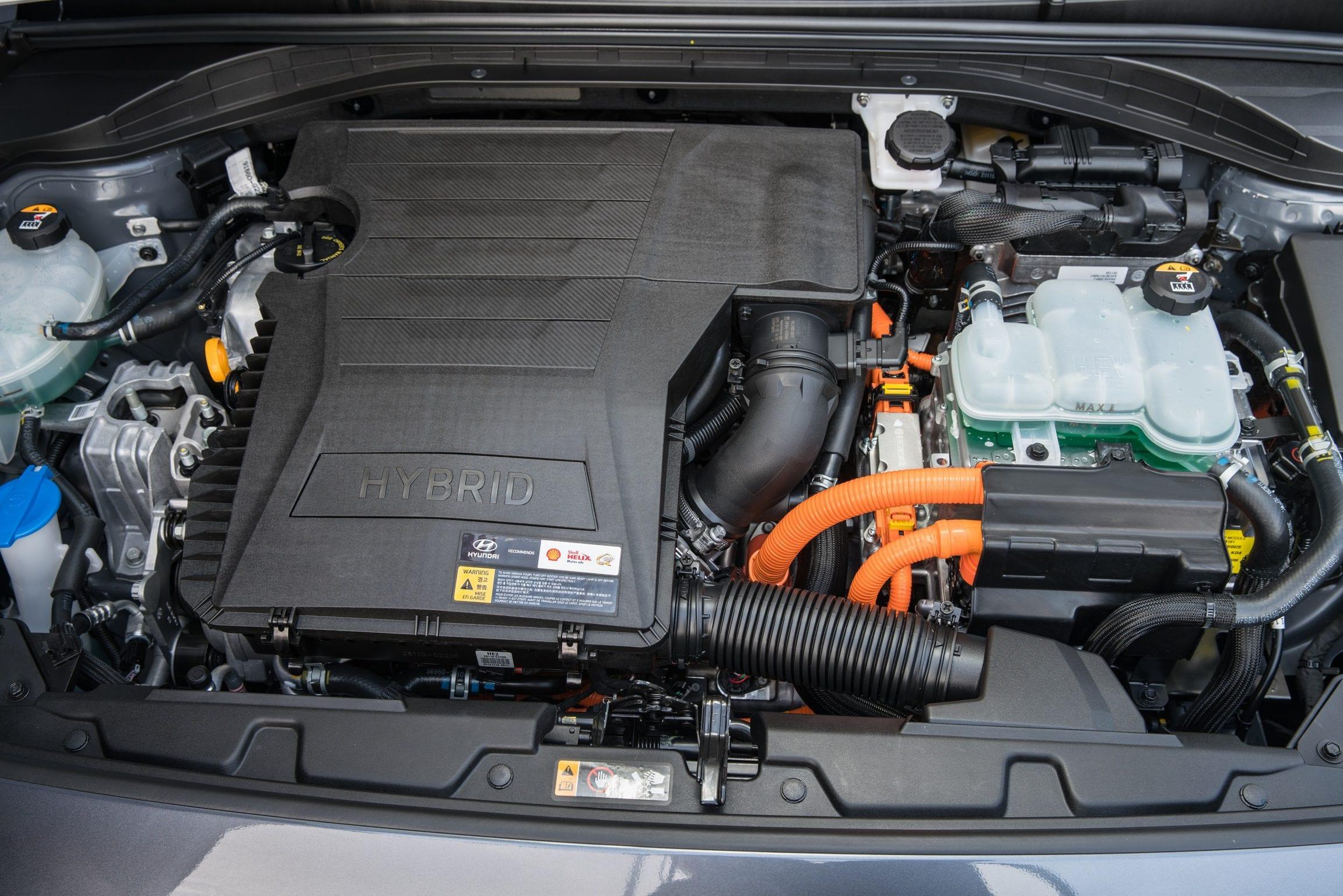Hyundai IONIQ Plug-in Hybrid 2017 elektrisch EV motorkap motor