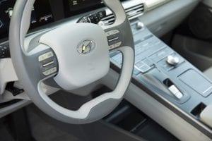 Hyundai NEXO Interieur waterstof auto