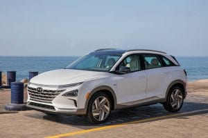 Hyundai NEXO Exterieur Waterstof auto