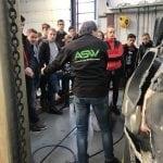 MBORijnland op bezoek bij ASW Autoschade