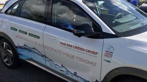 Afbeelding voor 50 leerlingen van het mboRijnland Mobiliteit & Voertuigen op bezoek