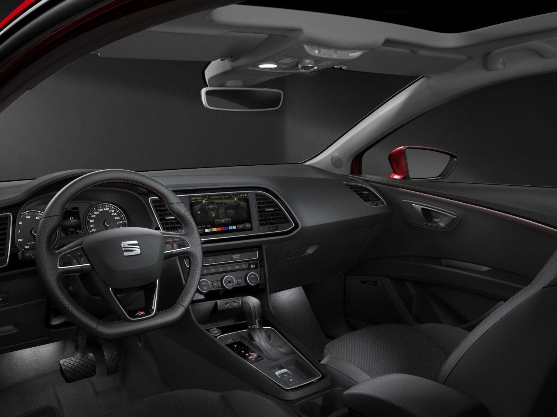 SEAT Leon Modelfoto interieur dashboard