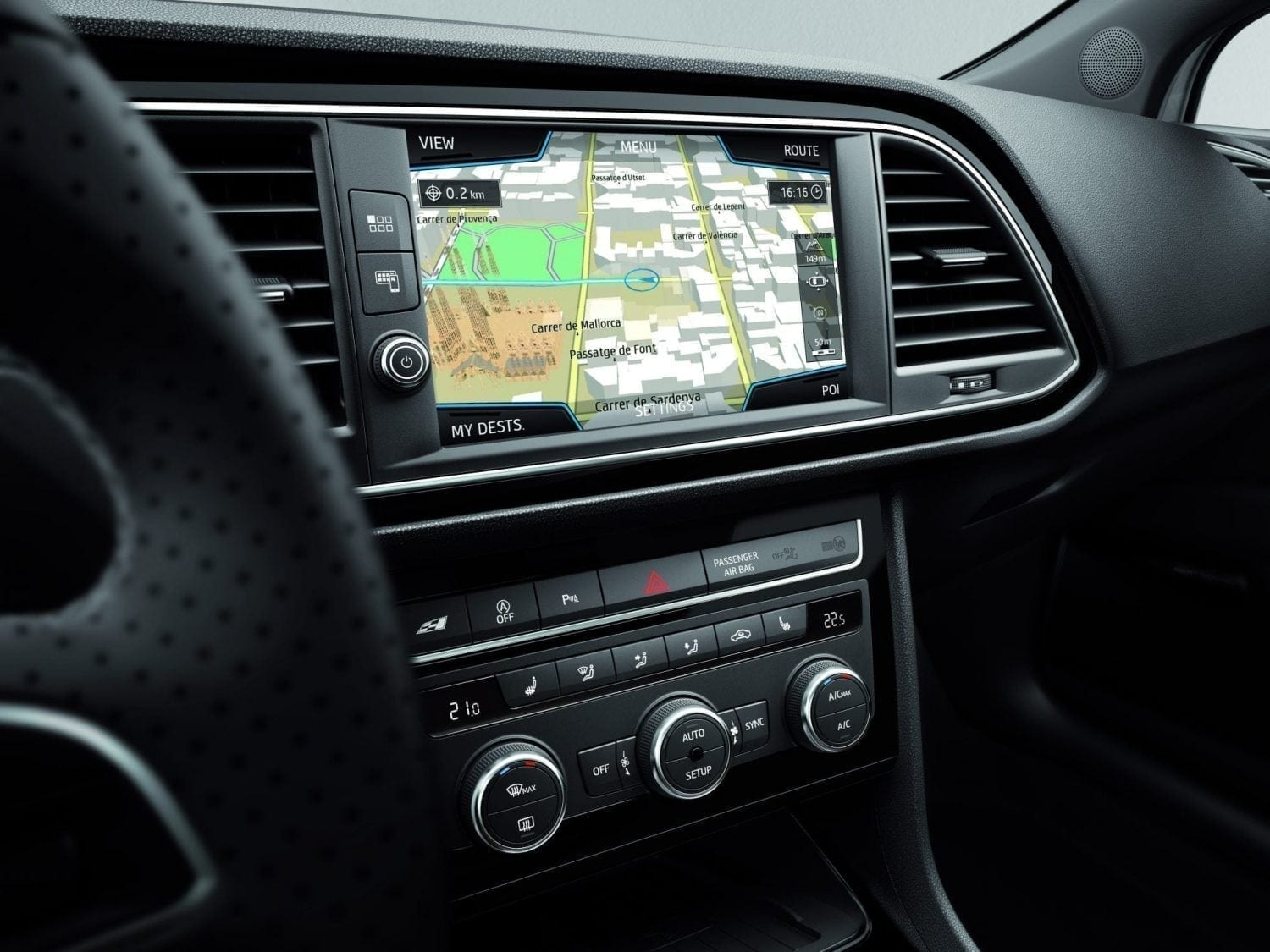 SEAT Leon interieur dashboard
