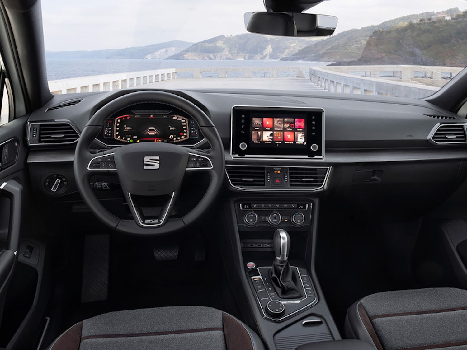 SEAT Tarraco interieur dashboard