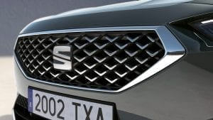 SEAT Tarraco grille