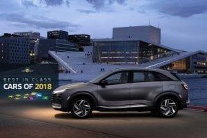 Hyundai NEXO Best in class NCAP