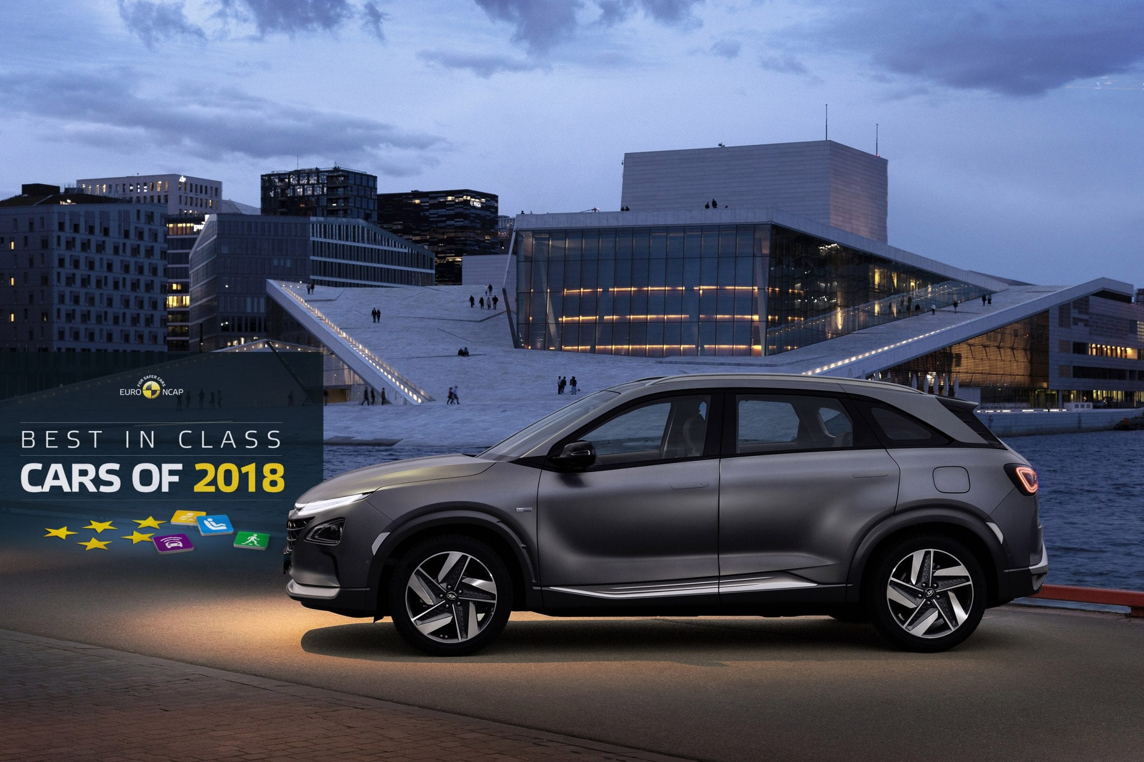 Afbeelding voor Hyundai NEXO 'Best in Class'!