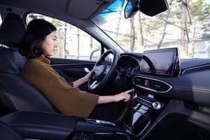 Hyundai Vingerafdrukscanner Santa Fe
