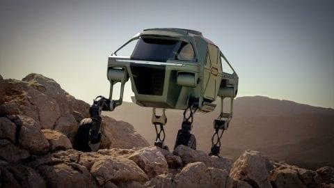 Afbeelding voor Hyundai Walking Car Concept - de toekomst van hulpverlening