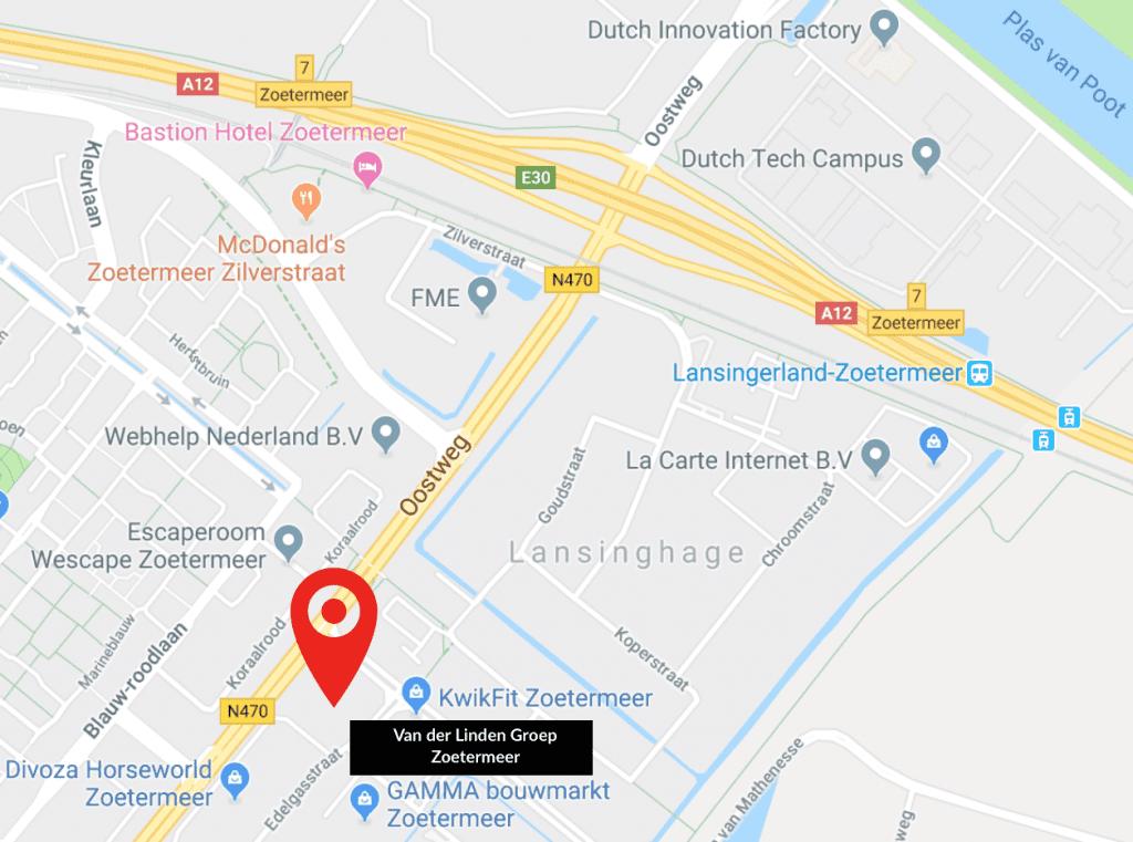 Zoetermeer plattegrond