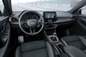 Hyundai i30 Fastback N interieur dashboard