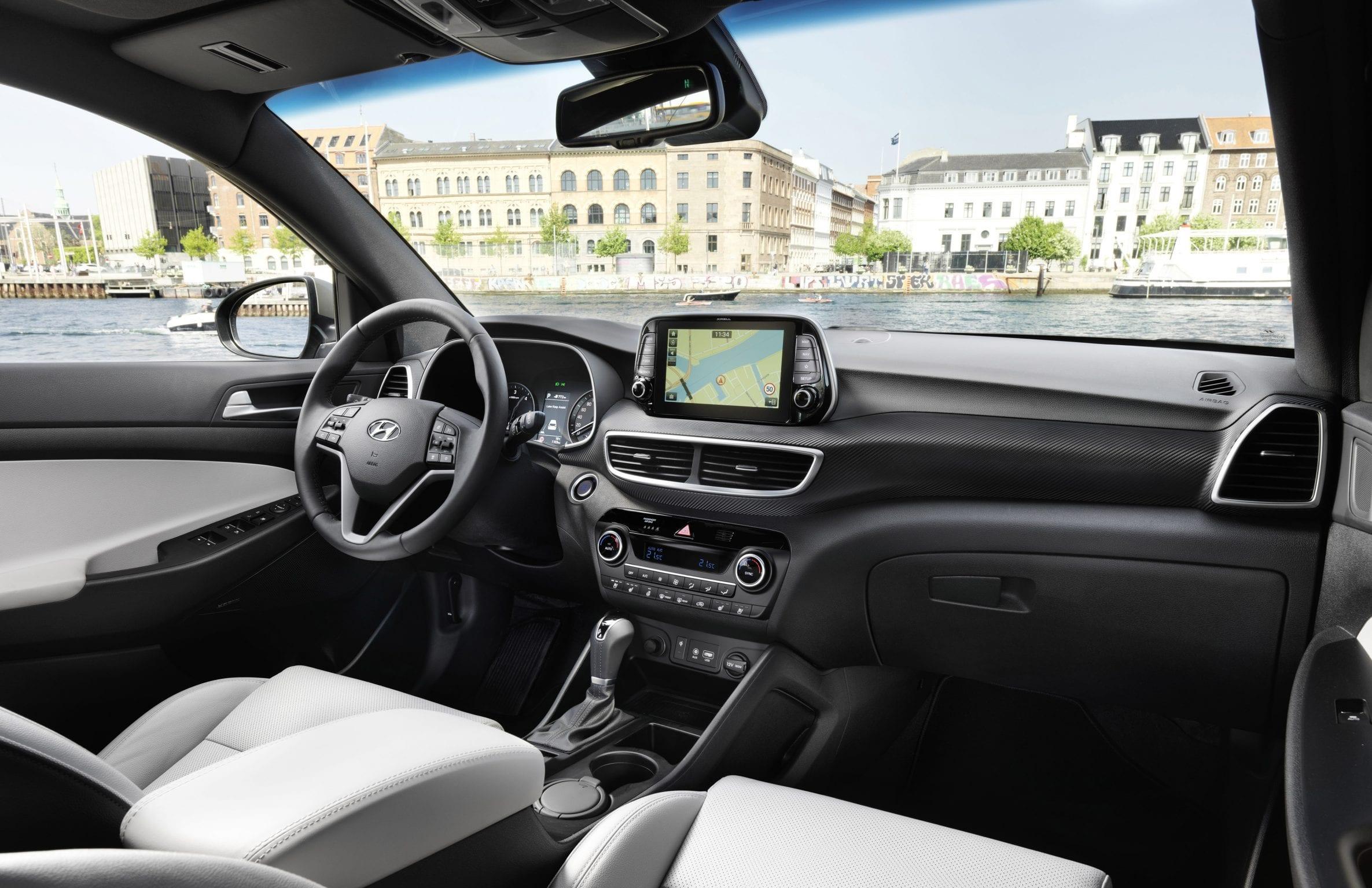Hyundai Tucson Interieur Dashboard