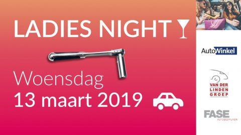 Afbeelding voor LADIES NIGHT - woensdag 13 maart 2019