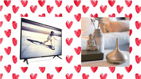Afbeelding voor VALENTIJNSACTIE - GRATIS TV OF PARFUME GENIE