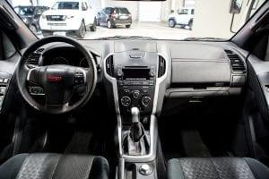 Isuzu d-max serie double cab interieur