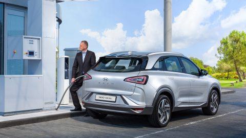 Afbeelding voor Hyundai gaat nieuwe samenwerking aan met Zwitsers waterstofbedrijf H2 Energy.