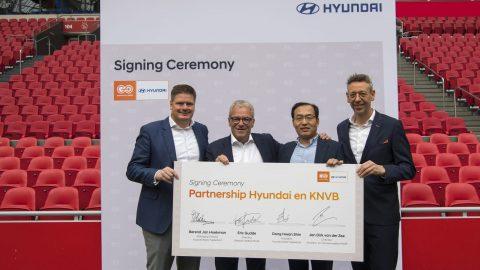 Afbeelding voor Hyundai nieuwe mobiliteitspartner van de KNVB