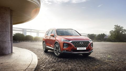 Afbeelding voor Hyundai vernieuwd de Santa Fe