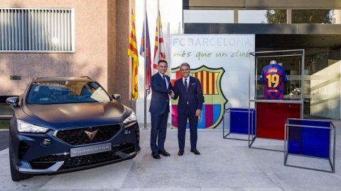 Afbeelding voor CUPRA en FC Barcelona bundelen krachten
