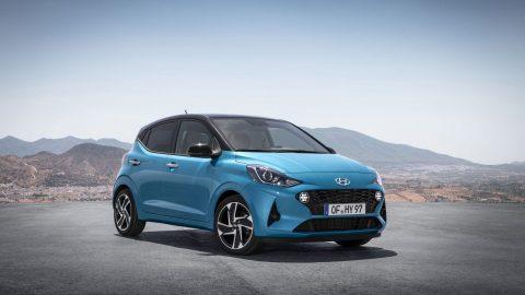 Afbeelding voor Hyundai presenteert vernieuwde i10!