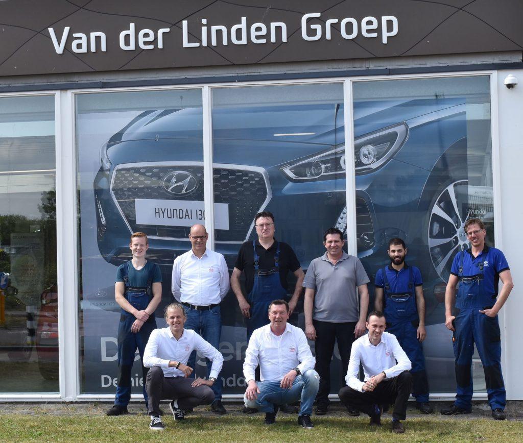 Team Van der Linden Groep Leiden